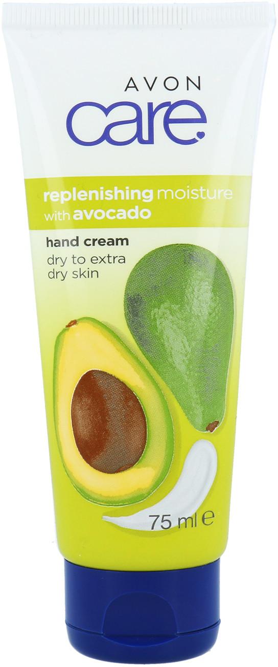 Avon Care Replenishing Moisture Hand Cream Nawilżający Krem Do Rąk Z Olejkiem Z Awokado 75ml