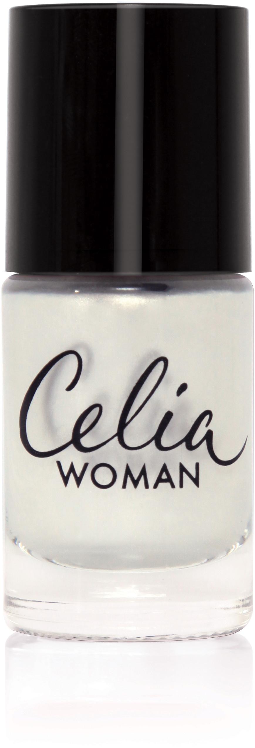 Celia Woman 10 ml Lakier do paznokci winylowy perłowy nr 201