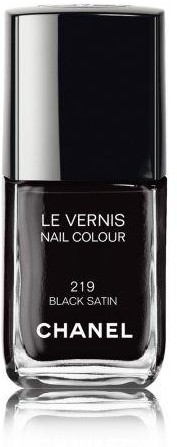 Chanel Le Vernis Lakier do paznokci nr 219 Black Satin 13ml