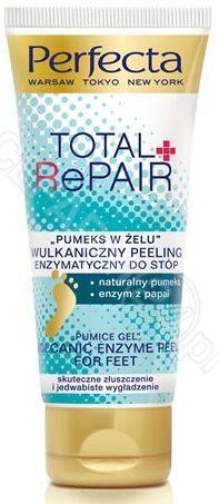 """DAX Cosmetics Dax Perfecta Total Repair """"pumeks w żelu"""" wulkaniczny peeling enzymatyczny do stóp 80 g"""