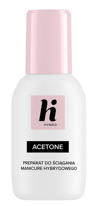 Hi Hybrid Hi Hybrid - ACETONE - Preparat do usuwania manicure hybrydowego - 50 ml HI PUHML-01