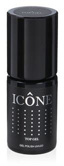 Icone Gel Polish UV/LED Top Gel top nabłyszczający 6ml 58548-uniw