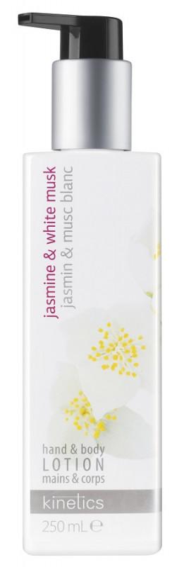 Kinetics Kinetics - Hand & Body Lotion - Odżywczy balsam do rąk i ciała - Jasmine & White Musk - 250ml KINIJM25