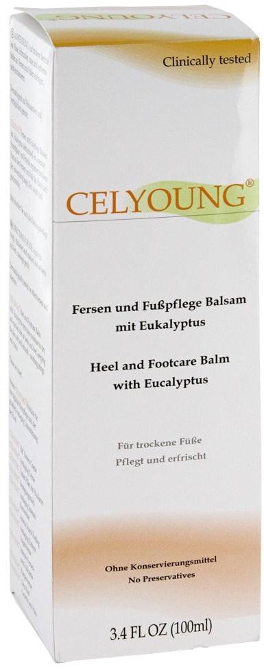 KREPHA GmbH & Co.KG Celyoung krem pielęgnacyjny do pięt i stóp z eukaliptusem 100 ml