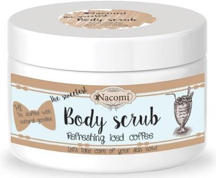 Nacomi Naturalny peeling cukrowy do ciała z masłem shea, olejem makadamia i kawą - Natural Naturalny peeling cukrowy do ciała z masłem shea, olejem makadamia i kawą - Natural