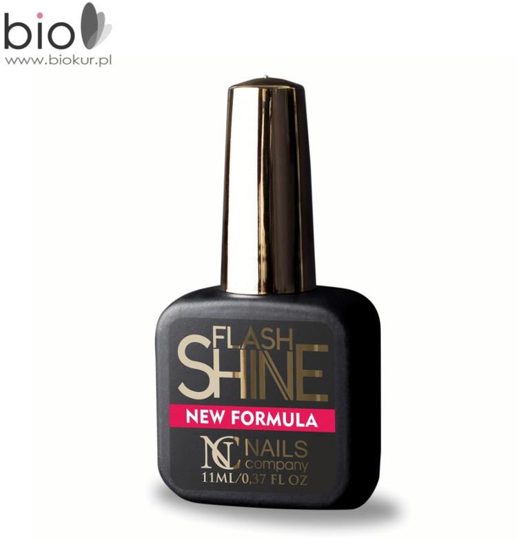 NAILS COMPANY Flash Shine NEW FORMULA UV Protect Top Hybrydowy Nails Company 11 ml