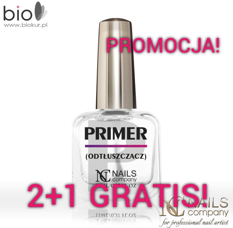 Nails Company PROMOCJA! Primer Kwasowy 11 ml 2+1 GRATIS! PRIMER-NC 2+1 gratis