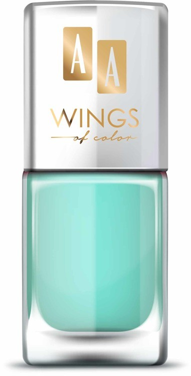 Oceanic AA WINGS OF COLOR Nail Lacquer Lakier do paznokci 13 Apple Mint 11ml