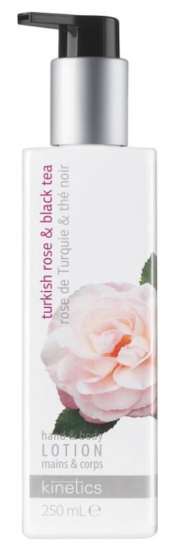 Rose Kinetics Kinetics - Hand & Body Lotion - Odżywczy balsam do rąk i ciała - Turkish amp; Black Tea - 250ml KINITB25