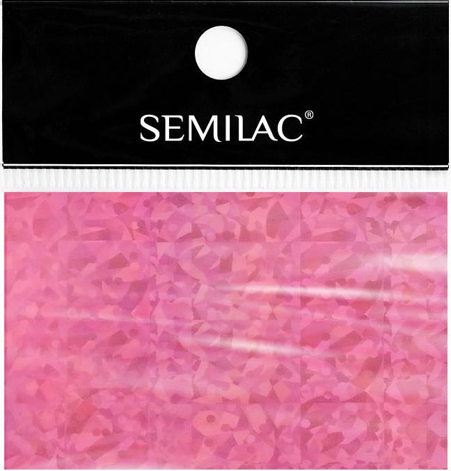 Semilac Folia transferowa 748 HOLO PINK 5902751424935