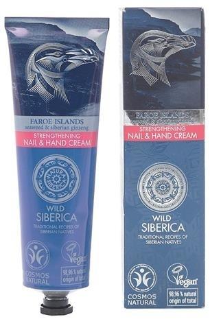 Siberica PROFESSIONAL Wild Strengthening Nail & Hand Cream wzmacniający krem do rąk i paznokci 75ml 50049-uniw