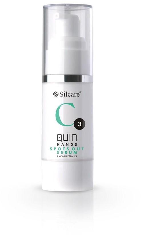 Silcare Quin Hands Spots Out Serum with C3 Complex serum na przebarwienia do dłoni z kompleksem C3 30ml
