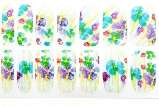 Vanity Naklejka kwiaty k5717b