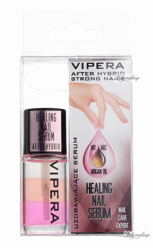 Vipera HEALING NAIL SERUM AFRER HYBRID - Uzdrawiające serum do paznokci po hybrydzie VIPDPHY