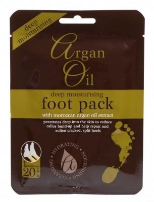 Xpel Xpel Argan Oil Deep Moisturising Foot Pack krem do stóp 1 szt dla kobiet