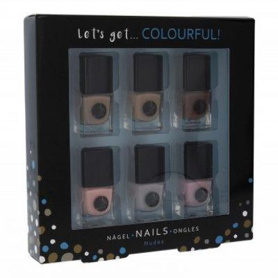 2K 2K Let´s Get Colourful! Nudes zestaw Lakier do paznokci 6 x 5 ml dla kobiet