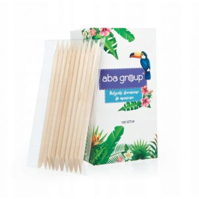 ABA Group Patyczki drewniane do manicure (100 szt.) - 9,5 cm ABA000061