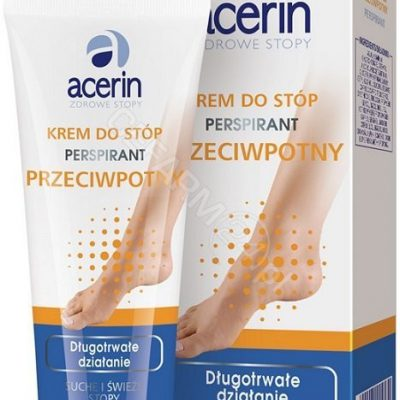 Acerin Perspirant krem przeciwpotny do stóp 75ml