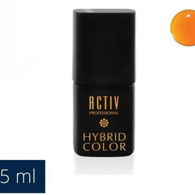 ACTIVESHOP LAKIER HYBRYD UV LED 20 HULA HOOP ORANGE NEONOWY POMARAŃCZ 15ml AS_104033