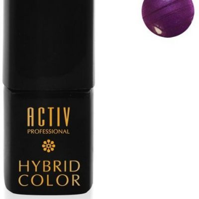 ACTIVESHOP LAKIER HYBRYD UV LED M09 PURPLE RAIN ŚLIWKOWY FIOLET 15ml AS_103613