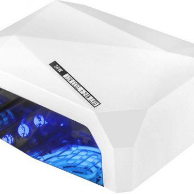 ACTIVESHOP LAMPA DIAMOND 2w1 UV LED+CCFL 36W TIMER + SENSOR WHITE