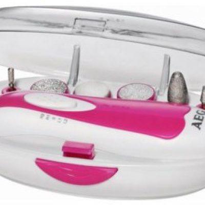 AEG zestaw do manicure LBS 5676 Biała/Purpurowa