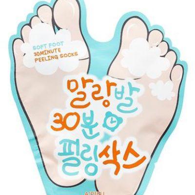 A'Pieu A'Pieu Soft Foot 30 Minute Peeling Socks skarpetki złuszczające do stóp 40ml 62695-uniw