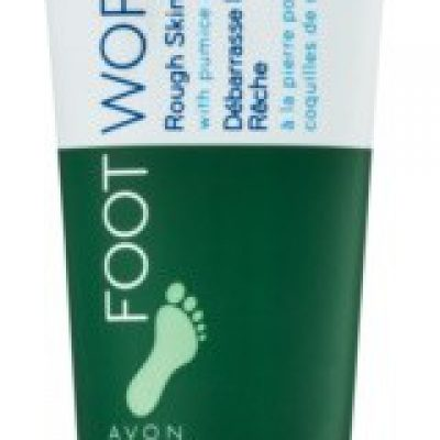 Avon Foot Works Classic krem peelingujący do nóg 75 ml