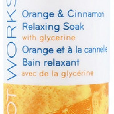 Avon Foot Works Exfoliating Scrub Złuszczający Scrub Do Stóp Orange & Cinnamon 75ml