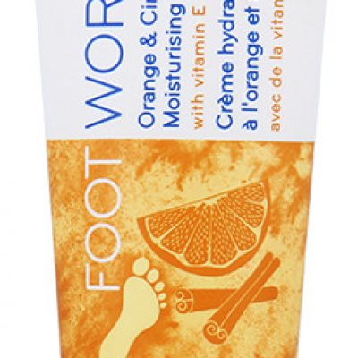 Avon Foot Works Moisturisiing Cream Nawilżający Krem Do Stóp Orange & Cinnamon 75ml