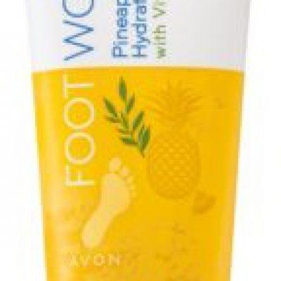 Avon Foot Works Pineapple and Tea Tree serum nawilżające do nóg 75 ml