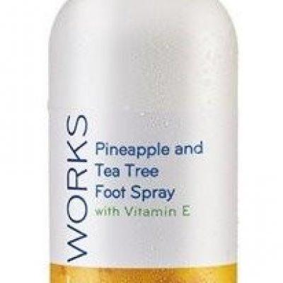 Avon FOOT WORKS Spray do stóp z ananasem i drzewem herbacianym 100ml 50445-uniw