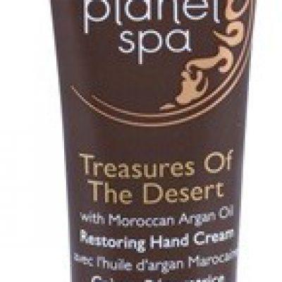 Avon Planet Spa Treasures Of The Desert krem do rąk z olejkiem arganowym 30 ml