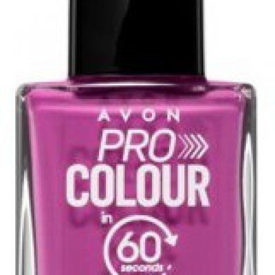Avon Pro Colour lakier do paznokci odcień Plum and Done 10 ml
