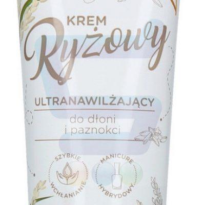 Barwa Naturalna Ultranawilżający krem do dłoni i paznokci Ryżowy 75 ml