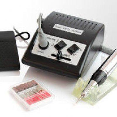 Beauty System Frezarka do manicure JD500 Czarna + zestaw frezów JD500/BLACK