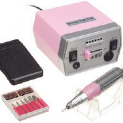 Beauty System Frezarka do manicure JD700 Różowa + zestaw frezów JD700 Różowa