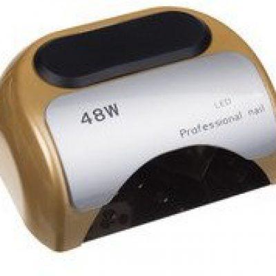 Beauty System Lampa LED + CFL do paznokci 48W CFL06 Złota