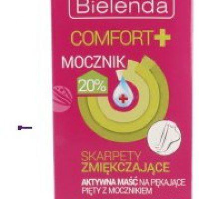 Bielenda Comfort+ U) skarpety zmiękczające aktywna maść na pękające pięty z mocznikiem 2x6ml