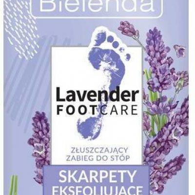 Bielenda Lavender Skarpety złuszczające do stóp 2s