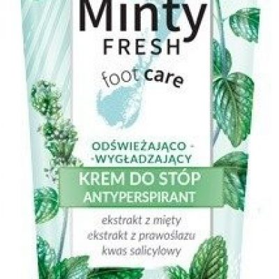 Bielenda MINTY FRESH FOOT CARE KREM ANTYPERSPIRANT DO STÓP 100ML