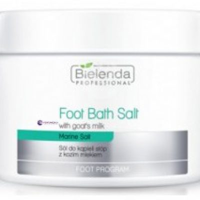 Bielenda Professional Foot Bath Salt With Goats Milk sól do kąpieli stóp z kozim mlekiem 600g