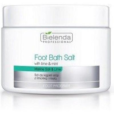 Bielenda Professional PROFESSIONAL Foot Bath Salt With Lime & Mint 600g 41923-uniw