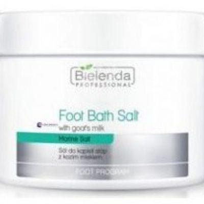 Bielenda PROFESSIONAL_Foot Bath Salt With Goats's Milk sól do kąpieli stóp z kozim mlekiem 600g