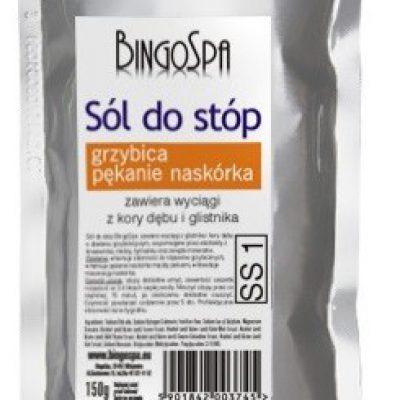 BingoSpa sól do stóp - Grzybica i pękanie naskórka 150g