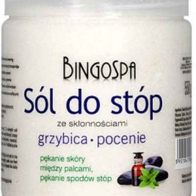 BingoSpa Sól do stóp ze skłonnościami do grzybicy i pocenia - BingoSpa Salt For Feet Sól do stóp ze skłonnościami do grzybicy i pocenia - BingoSpa Salt For Feet