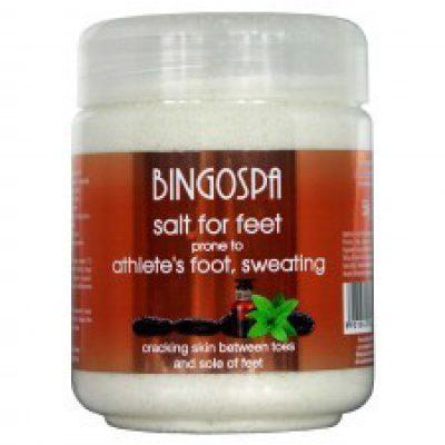 BingoSpa Sól do stóp ze skłonnościami grzybica, pocenie