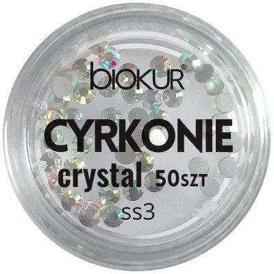 Biokur Cyrkonie BIOKUR Crystal SS3 50 szt