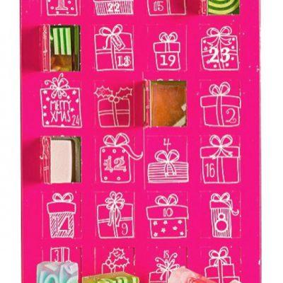 Bomb Cosmetics The Bomb Advent Calendar - Kalendarz Adwentowy z kosmetykami do kąpieli - THE BOMB BOMKKBO
