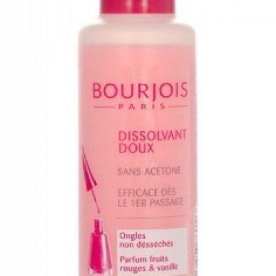 Bourjois Paris Paris Gentle Nail Enamel Remover zmywacz do paznokci 125 ml dla kobiet